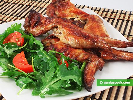 how to cook chicken wings the healthy way