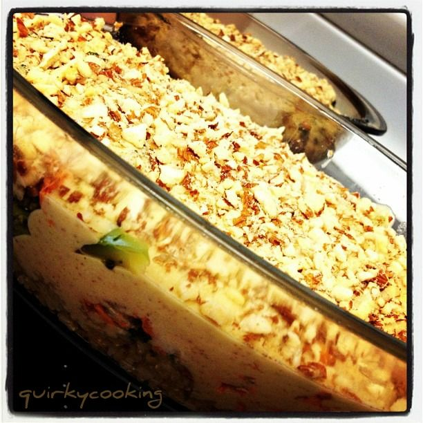 Quirky Cooking: Salmon-Rice Casserole