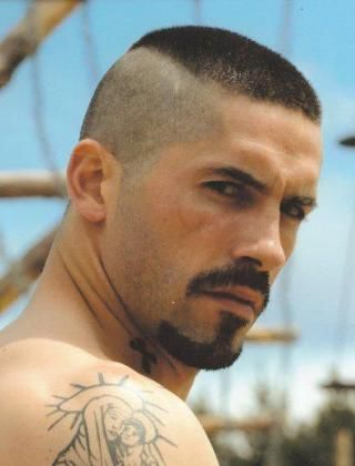 High and Tight Haircut for Men with Beard