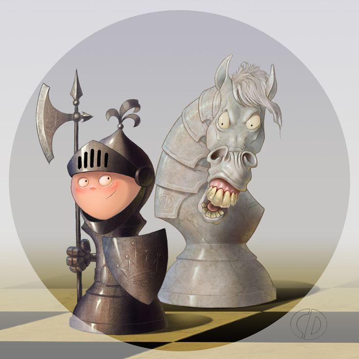 chess pieces #art #characterdesigne #cartoon #drawing #digitalart #painting #illustration #conceptart #иллюстрация #рисунок #шахматы