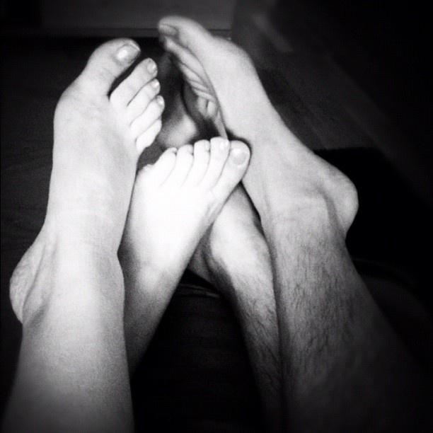 Feets Love: White, Black, Loves