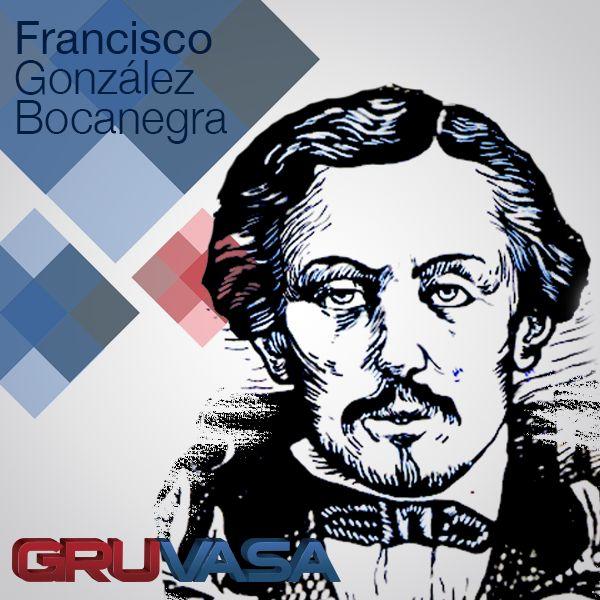 #UnDíaComoHoy de1824, nace Francisco González Bocanegra, poeta y autor de la letra del Himno Nacional Mexicano.