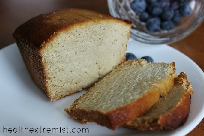 This coconut flour loaf bread is fluffy, moist, easily sliced and tastes delicious. The only flour in this paleo and gluten free bread is coconut flour!
