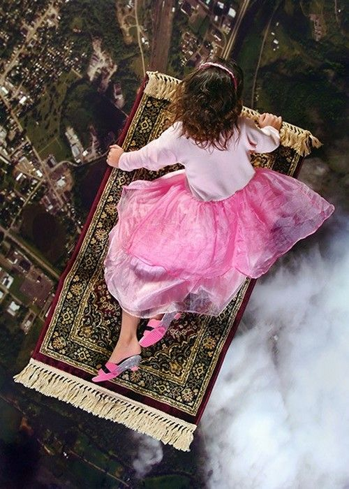 Pink magic carpet ride. Cause this is what we need about now, eh?
