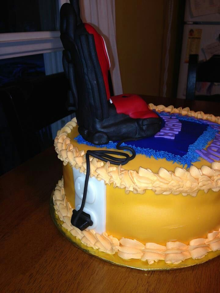 24 Best Vaccum Cleaner Cake Images On Pinterest 2nd Birthday 3