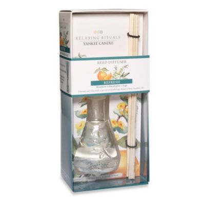 Yankee Candle® Relaxing Rituals™ Refresh Reed Diffuser - BedBathandBeyond.com