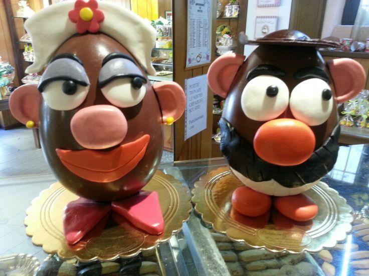 Uova di cioccolato (carmensita e Miguel)