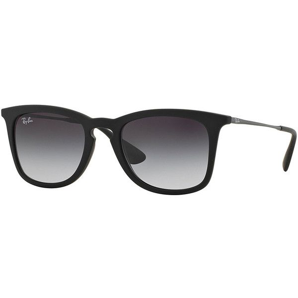 Ray-Ban Wayfarer Plastic Sunglasses found on Polyvore