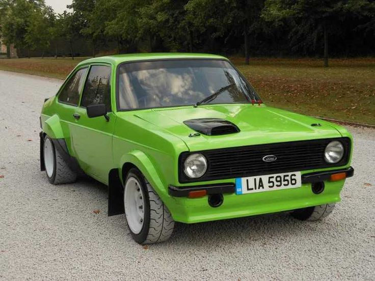 ULTIMATE FORD ESCORT MK2 2.3 JRE