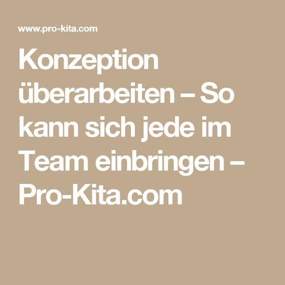 Konzeption überarbeiten – So kann sich jede im Team einbringen – Pro-Kita.com