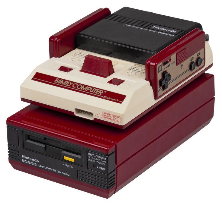 Nintendo Famicom with Famicom Disk System  素直にカコワルィ;