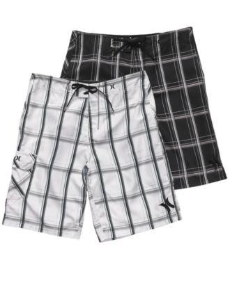 3f0fb23723 Hurley Swimwear, Puerto Rico Board Shorts - Mens Swim - Macy's   My Future  Husband <3   Mens boardshorts, Swimwear fashion, Swimwear