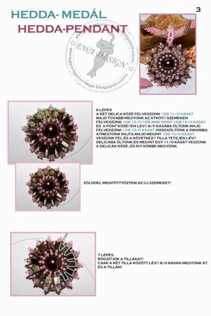 Hedda pendant pattern 3