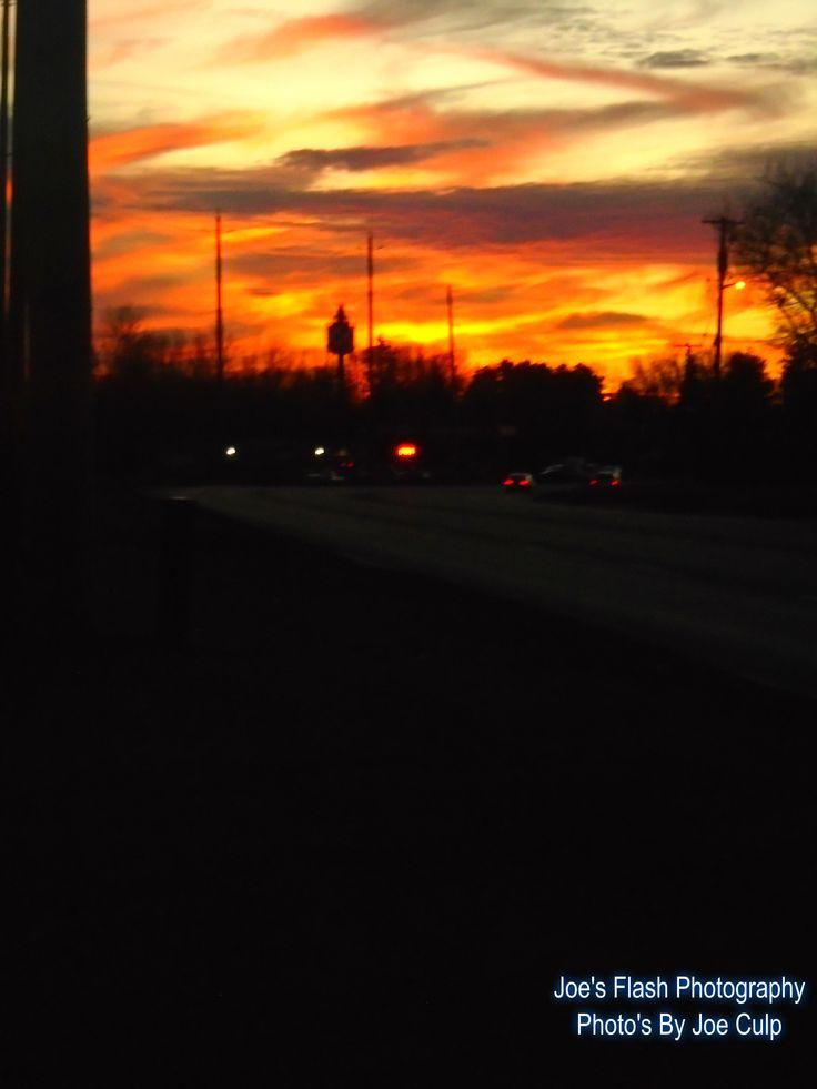 Christmas Eve 2015 Sunset in Bayside Ontario near CFB Trenton