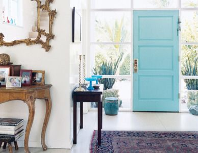 17 best ideas about aqua front doors on pinterest tan for Things to hang on front door