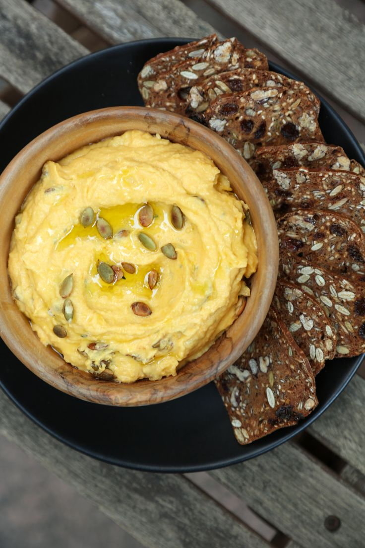 Pumpkin Goat Cheese Dip Is So Gourd
