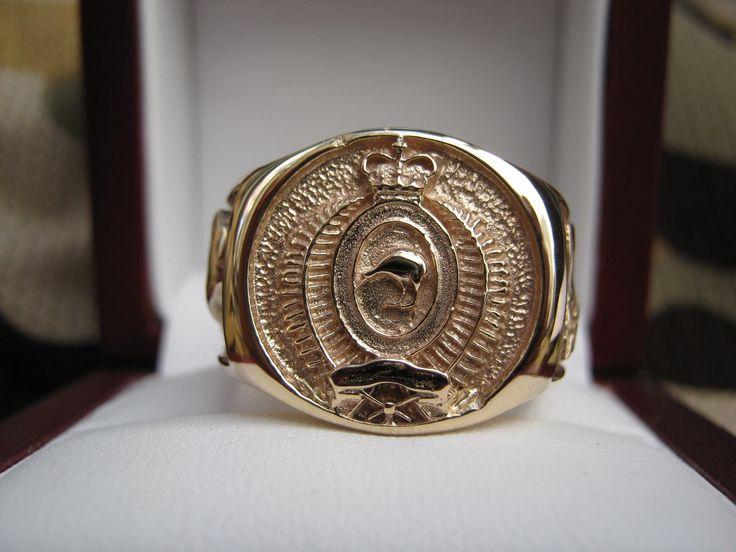 RNZIR Signet Ring in Gold