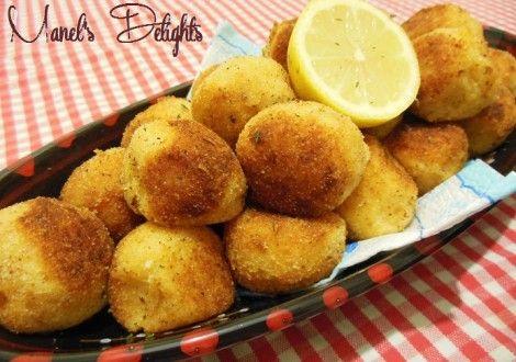 Croquettes de pommes de terre au poulet   Pholato.fr