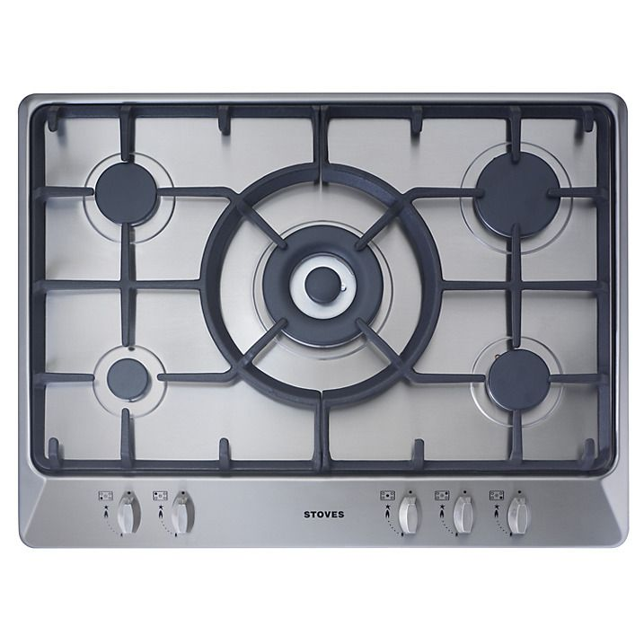 Stoves SGH700C Gas Hob, Stainless Steel