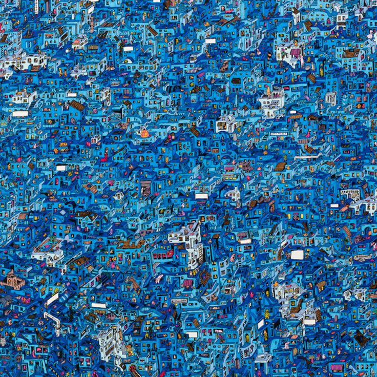 BoredPanda http://www.boredpanda.com/i-spend-over-150-hours-drawing-each-of-these-intricate-cityscapes/ More info: guillaumecornet.com