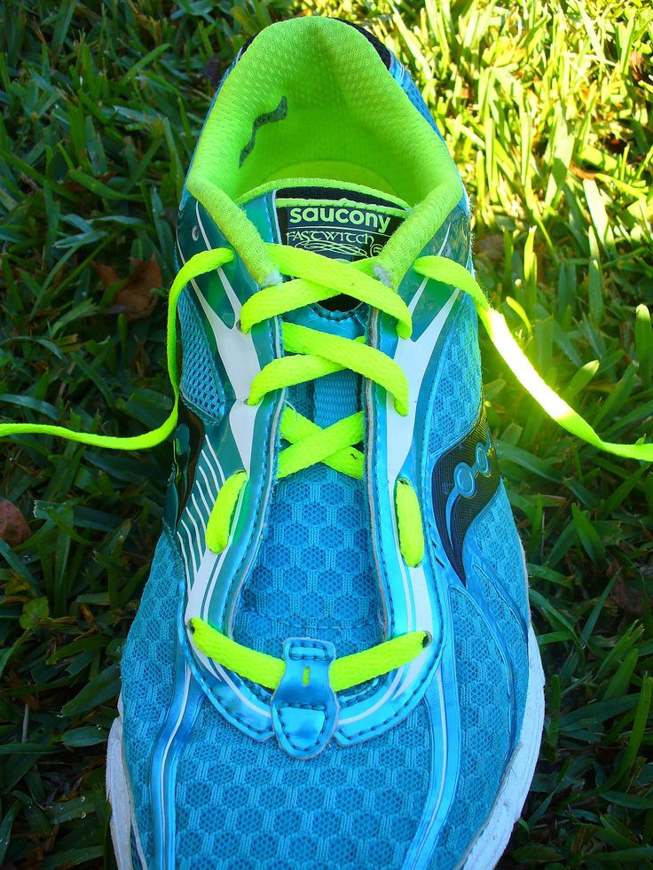 had a running store show me how to do this and it made a huge difference - How to tie your running shoes to fit your feet better. a podiatrist showed her this trick!  example: high arches, vs. wide foot tie