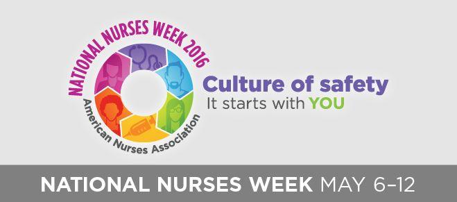 National Nurses Week 2016 Banner