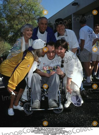 ... Penny Marshall Photo - MS Walk 200 at Warner Brothers Studio LA Cast Reunion of Laverne. ""