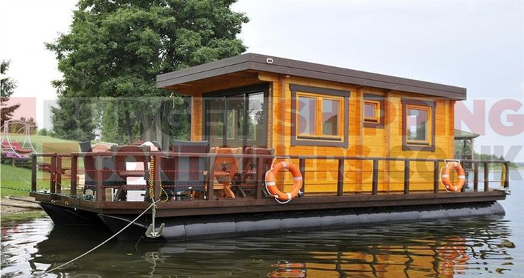 Shipping Container Pontoons Are Ideal For Shipping