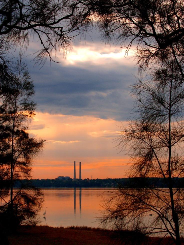The Two Towers, (Lake Munmorah Power Station) Budgewoi Lake, NSW Aust 2006