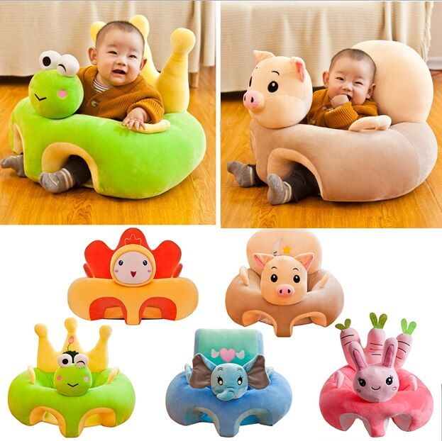 29 Styles Baby Seats Sofa Support Seat Baby Plush Chair Cartoon Seat Without Filler Learning To Sit Soft Plush Doll Toys Travel In 2020 Baby Sofa Plush Chair Kids Sofa