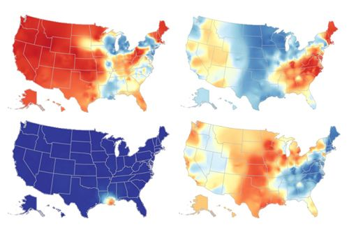 How Y'all, Youse and You Guys Talk - a test for where in the US they speak most like you do