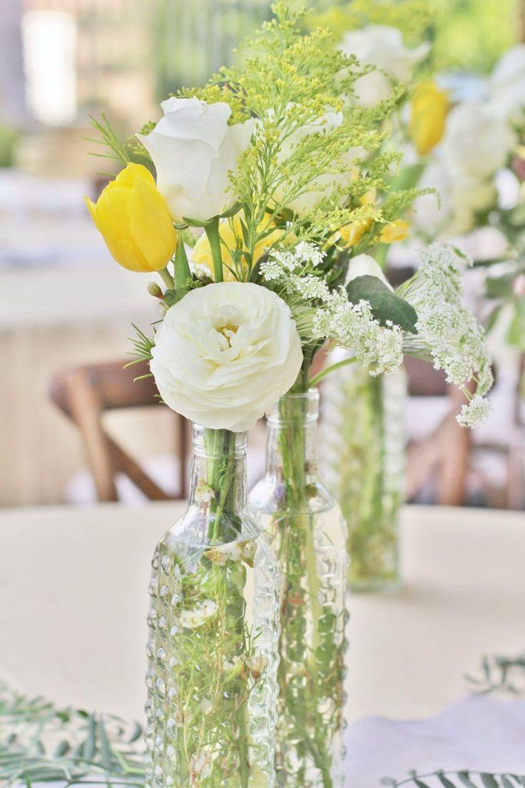 Baby To Bee Outdoor Shower Floral Centerpieces Babyshowerideas4u