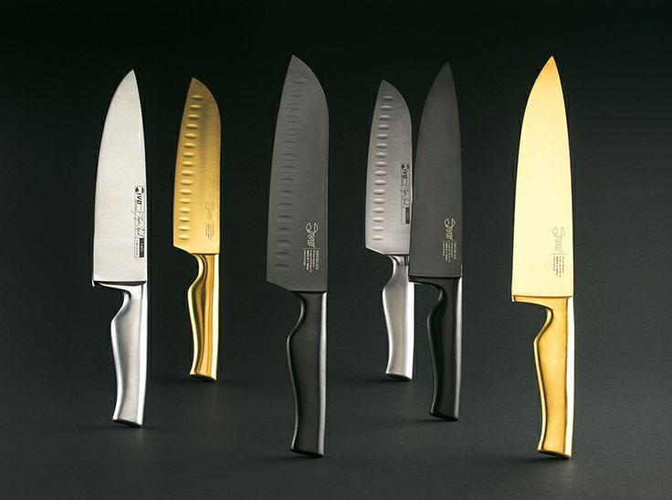 Cuchillos de cocina de diseño exquisito. Prueba las líneas ViRTU, ViRTUBLACK y ViRTUGOLD, no te arrepentirás...