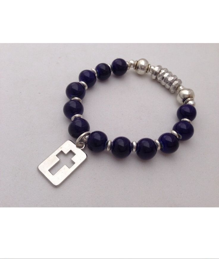 A personal favorite from my Etsy shop https://www.etsy.com/listing/175379107/rosary-bracelet-for-boys-first-communion