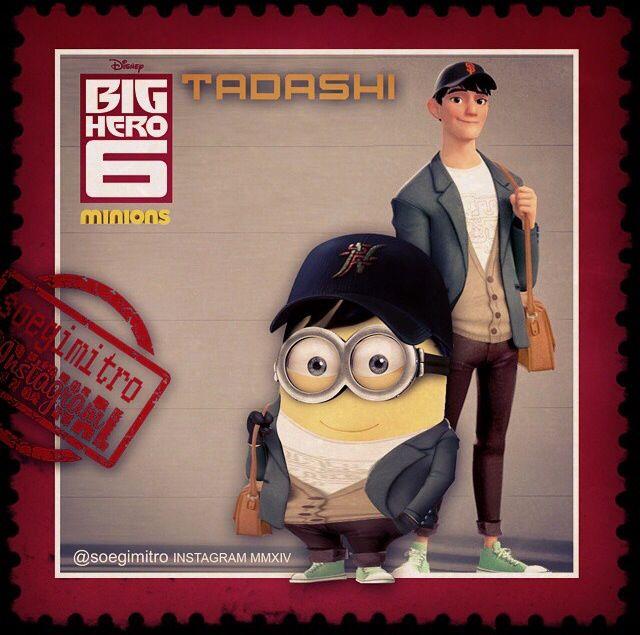 Big Hero 6 Minions ~ Tadashi