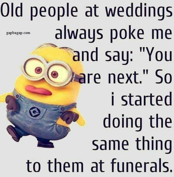 Funny Minions – Weddings vs. Funerals