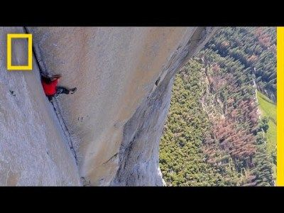 See First Video of Most Dangerous Rope-Free Climb Ever (Alex Honnold) | National Geographic #news #alternativenews