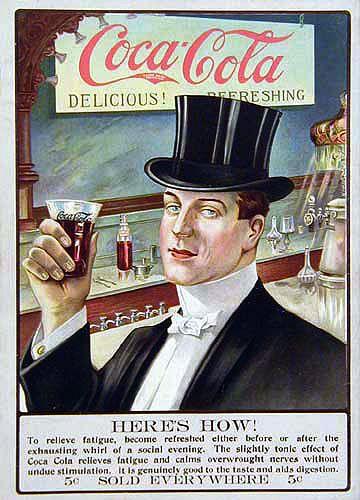 Vintage Ad for Coca-Cola 1907