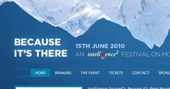 Creative and well-designed Event Websites. 30 Amazing Examples