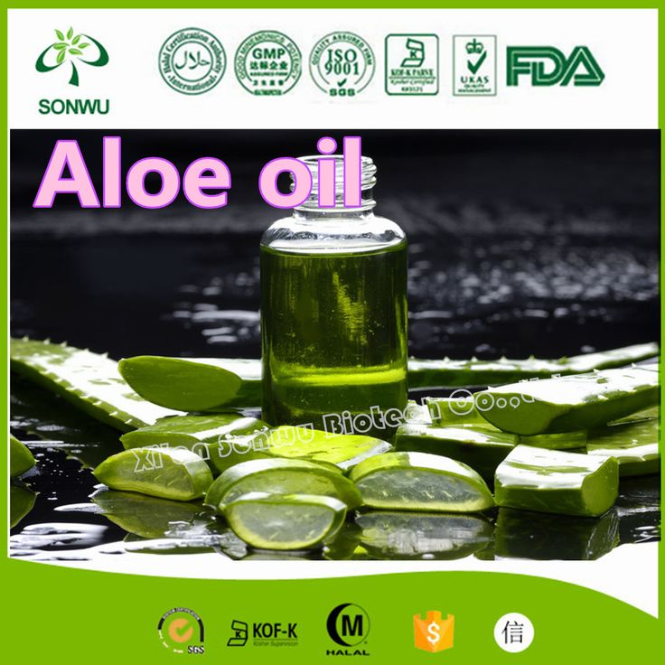 pure aloe vera essential oil for skin and hairs