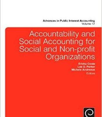 Accountability And Social Accounting For Social And Non-Profit Organizations PDF