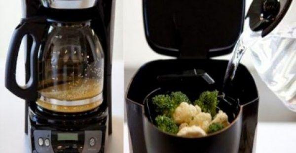 4 απίστευτα πράγματα που μπορείς να κάνεις με την… καφετιέρα