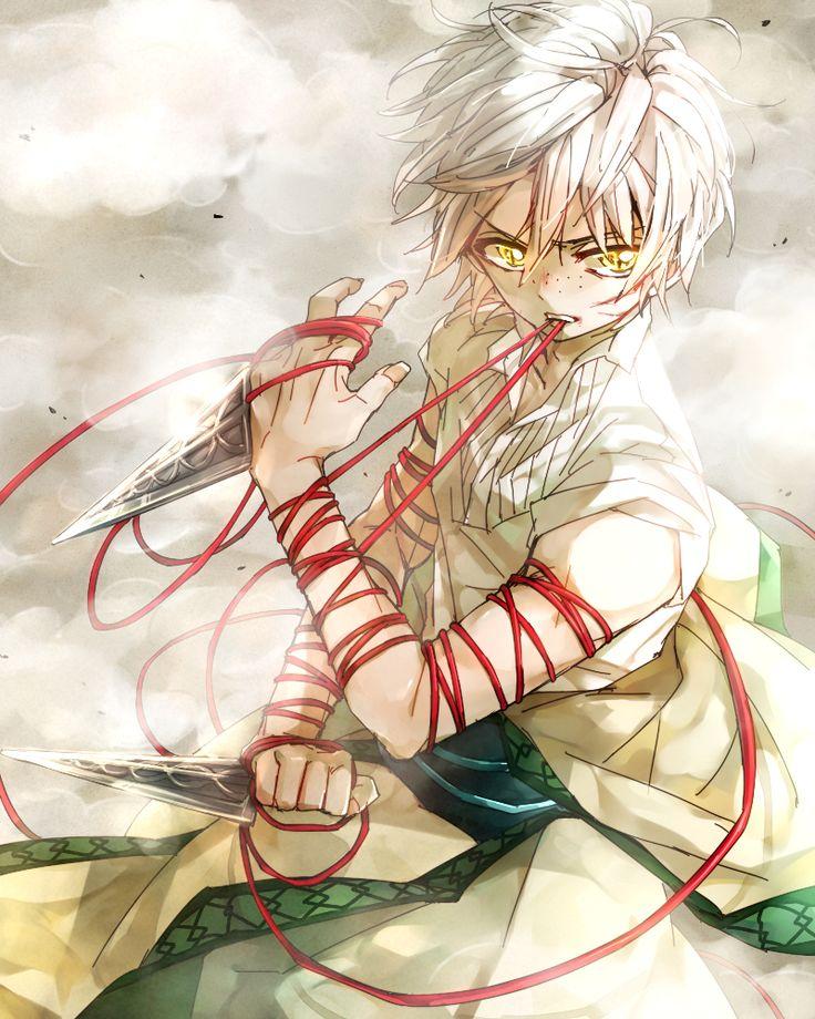 Ja'far | Magi: The Labyrinth of Magic #manga