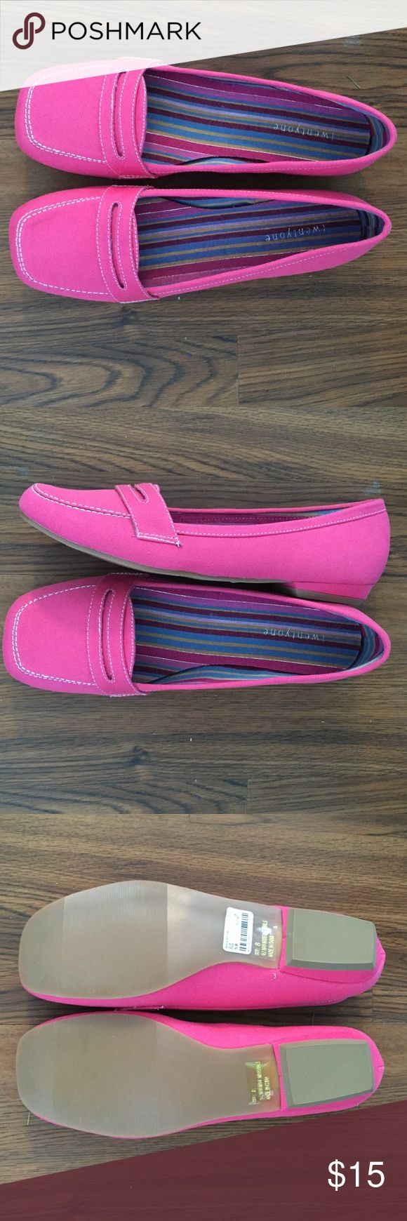Brand new pink loafers Brand new twentyone Shoes Flats & Loafers