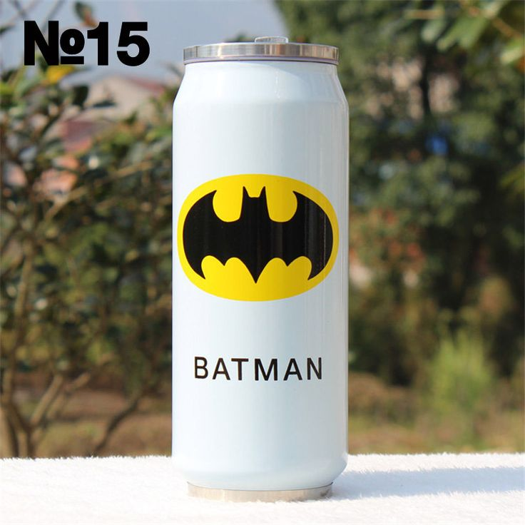 23 Color 300ML 500ML Big Hero Thermos Cup Stainless Steel Water Bottle Vacuum Flasks Thermoses Garrafa Termica Infantil Bottle