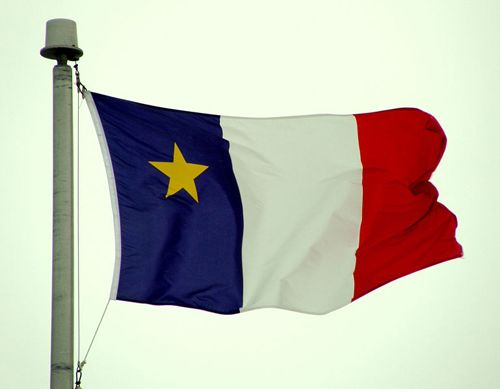 Lineage - French Acadian Flag