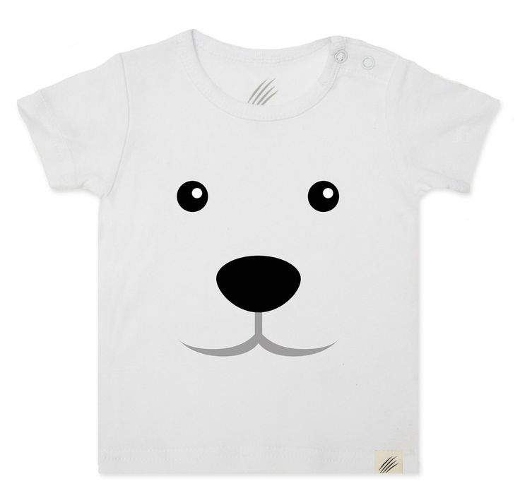 Kids and infants animal t-shirts. Made for little animals.