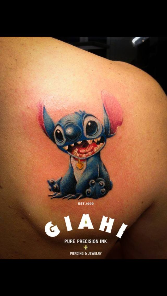 12 best stitch images on pinterest stitch tattoo for Funny dog tattoos