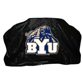 Seasonal Designs, Inc. 68-In X 43-In Vinyl Byu University Gas Grill Cover Lc179