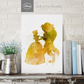 Beauty and Beast Disney Wall Art - Poster Α4